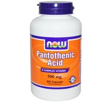 Pantothenic Acid B-5 500 mg (250капс)