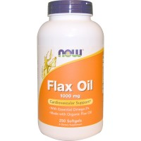 Organic Flax Oil 1000 mg (100капс)
